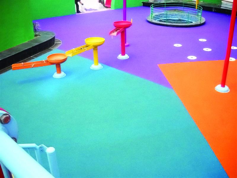 Childrens Playground Flooring Ecoflex - Children's indoor play area flooring