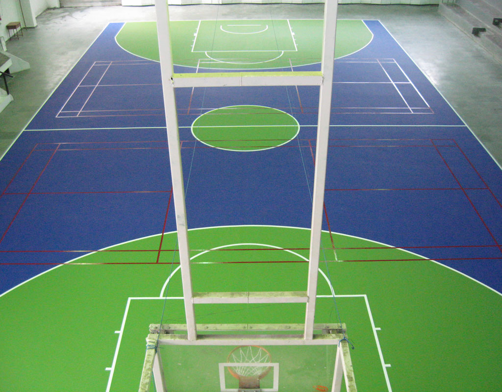 Welham Boys, Dehradun - Indoor Basketball Court