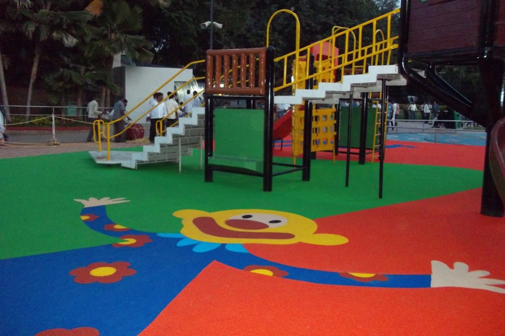 Four Safe Playground Flooring Advantages